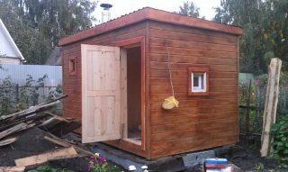 Строительство мобильных бань в Перми