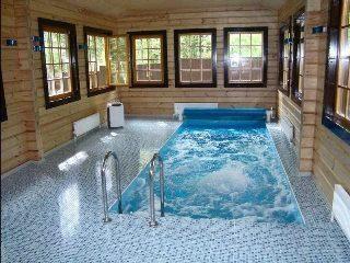 Строительство бани с бассейном в Перми