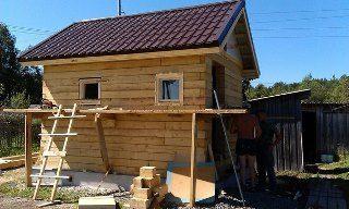 Строительство саун под ключ в Перми