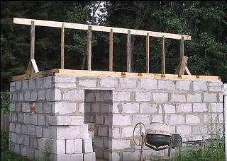 Строительство бани из газобетона в Перми