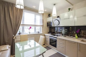 Дизайн интерьера кухни в Перми