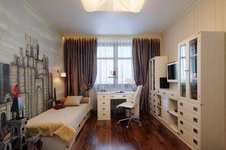 Дизайн интерьера комнаты в Перми