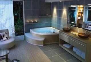 Фото варианты Дизайн ванной комнаты в Перми