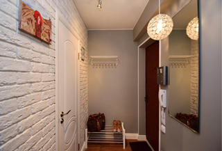 Дизайн коридора в Перми