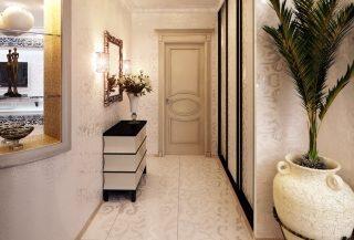 Фото варианты Дизайн коридора в Перми