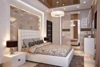 Дизайн спальни в Перми