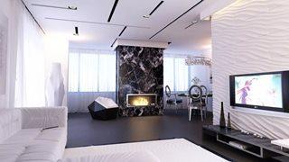 Фото варианты Дизайн интерьера двухкомнатной квартиры