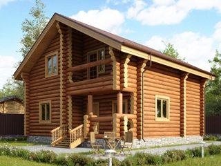 Проекты домов из бревна в Перми