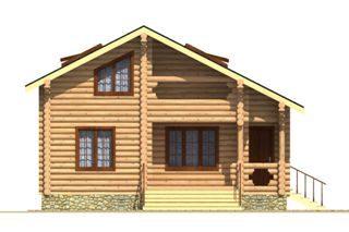 Проекты домов из бревна 5х7 в Перми