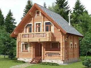 Проекты домов 7х7 из оцилиндрованного бревна в Перми