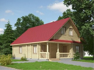 Проекты домов 9х11 из оцилиндрованного бревна в Перми