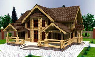 Проекты домов 10х12 из оцилиндрованного бревна в Перми