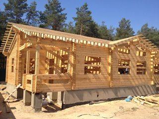 Проекты домов из бруса 9x10