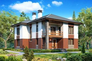 Проекты домов из кирпича до 200 кв.м в Перми