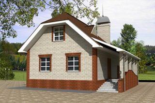 Проекты домов из кирпича 6х7 в Перми