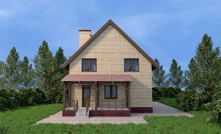Проекты домов из кирпича 6х9 в Перми