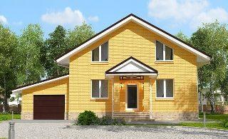 Проекты домов из кирпича 6х12 в Перми