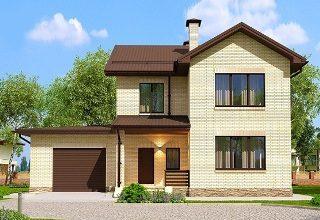 Проекты домов из кирпича 7х10 в Перми