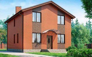 Проекты домов из кирпича 8х8 в Перми