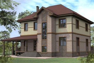 Проекты домов из кирпича 8х10 в Перми