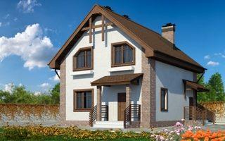 Проекты домов из кирпича 9х9 в Перми