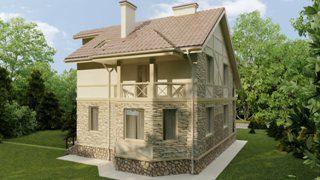Проекты домов из кирпича 9х12 в Перми
