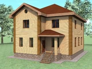 Проекты домов из кирпича 10х10 в Перми
