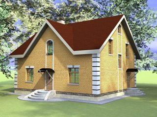 Проекты домов из кирпича 10х12 в Перми