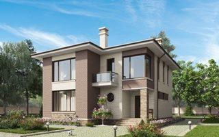 Проекты домов из кирпича 12х12 в Перми