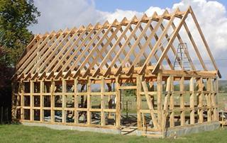 Строительство каркасных домов в стиле фахверк в Перми под ключ