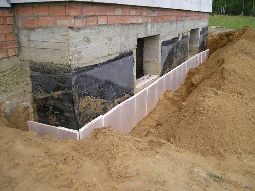 Строительство цокольного фундамент в Перми