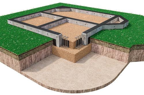 Мелкозаглубленный фундамент в Перми