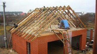 Строительство гаража из кирпича в Перми