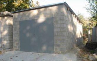 Строительство гаража из газобетона в Перми