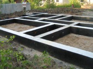Строительство ленточного фундамента в Перми