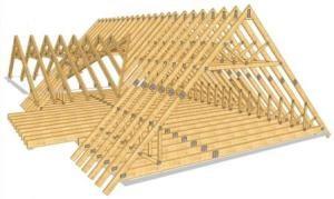 Строительство крыши дома в Перми