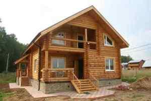 Построить дом из сруба в Перми