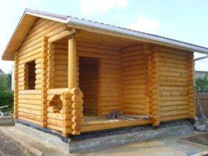 Строительство бань под ключ в Перми