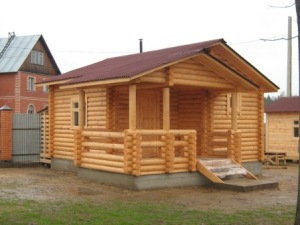 Строительство деревянных бань под ключ в Перми