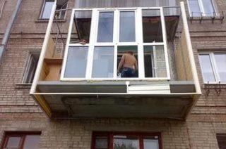 Ремонт балкона под ключ в Перми