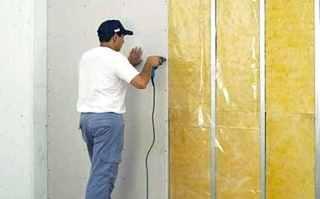 Фото процесса Шумоизоляция стен в квартире в Перми