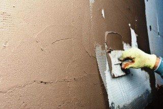 Фото процесса Штукатурка стен в Перми