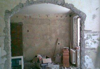 Фото процесса Перепланировка стен в Перми