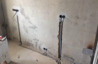 Фото процесса Выравнивание стен в Перми