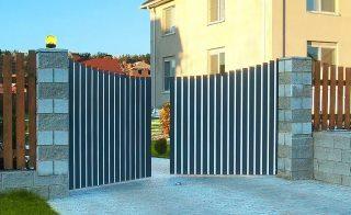 Распашные ворота в Перми