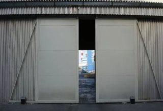 Откатные ворота гаражные в Перми