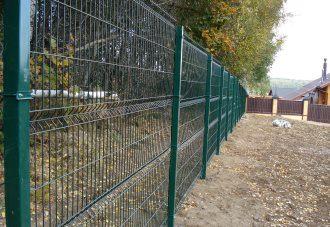 Забор из сетки гиттер (gitter) в Перми