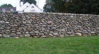 Забор из камня под ключ в Перми